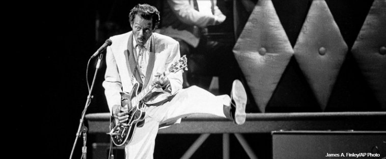 Music world remembers Chuck Berry: https://t.co/0E973PPrgp https://t.co/tXiOKVI1BZ