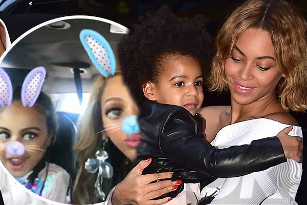 She's growing so fast! @Beyonce shares ADORABLE new snaps with Blue Ivy