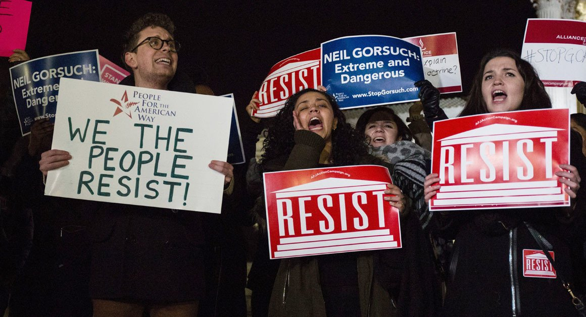 Liberals warn Democrats as Gorsuch hearings begin: Oppose or else https://t.co/jJA6NoEIV1 https://t.co/BI6VqAwoLV