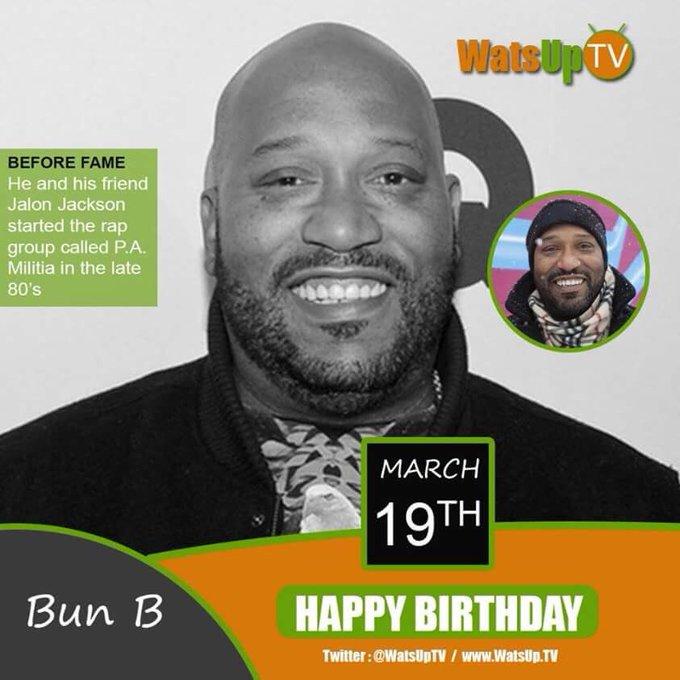 Happy birthday to Bun B.