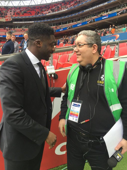Happy Birthday to   favourite Kolo Toure have a great day my friend