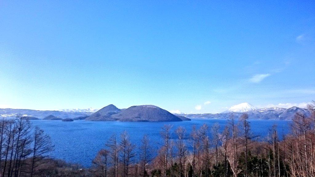 洞爺湖とっても良かった〜羊蹄山がめっちゃ雄大で天体のメソッドも所々に宣伝されてて優しさを感じた。天文台のモデルは雪で埋ま