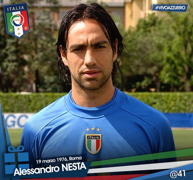 | Happy Birthday to Alessandro who is 41 today!