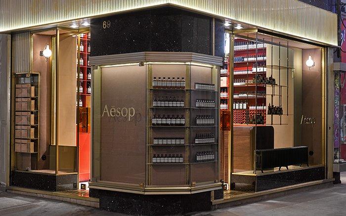 A bold façade with discrete design accents – Aesop Lyon: https://t.co/s1YDBDpcVM https://t.co/tjOQZOS8ny