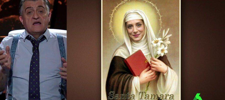 """VÍDEO   La oración pija de Wyoming a """"Santa Tamara Falcó, patrona de la televisión"""""""