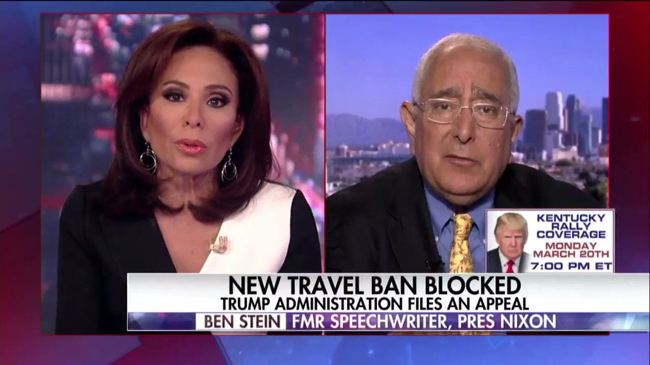 WATCH: @JudgeJeanine's full interview with Ben Stein. https://t.co/2Wvo4rFwEI