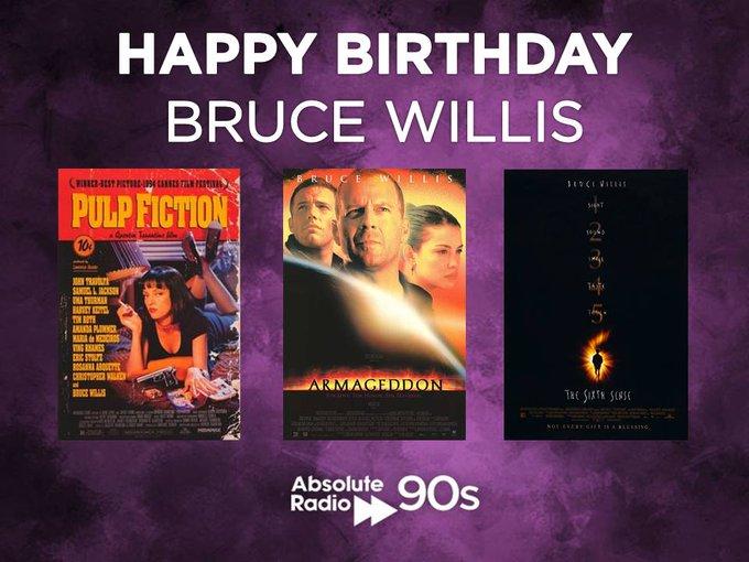 Happy Birthday 90s film legend Bruce Willis!