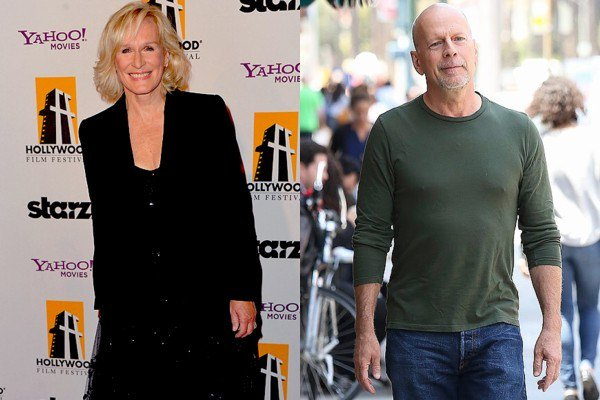 March 19: Happy Birthday Glenn Close and Bruce Willis