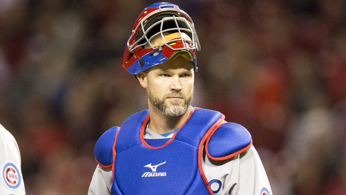 Happy 40th Birthday to former catcher/World Series champ, David Ross!