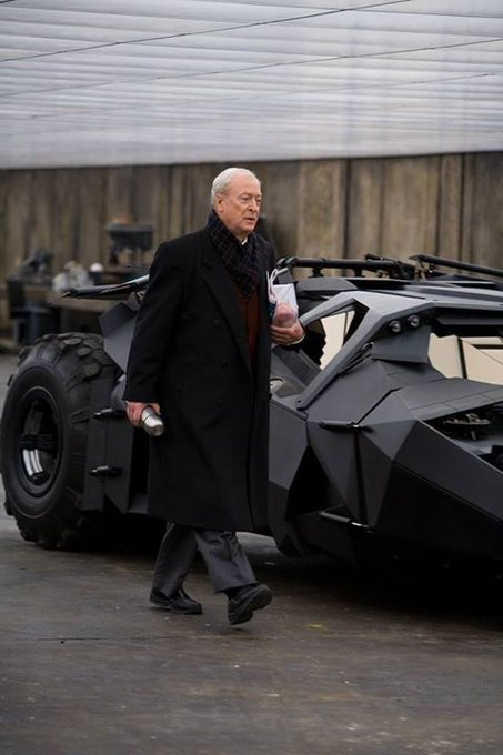Happy birthday to our Alfred, Michael Caine!