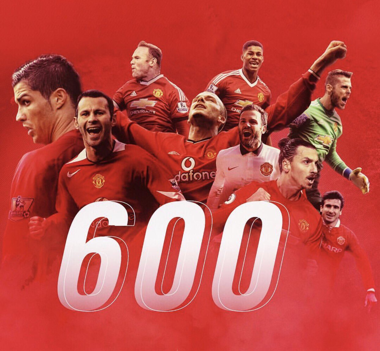 First club to record #600 @premierleague wins, very proud to be part of it. @ManUtd #mufc ���� https://t.co/1FNg8svcdu