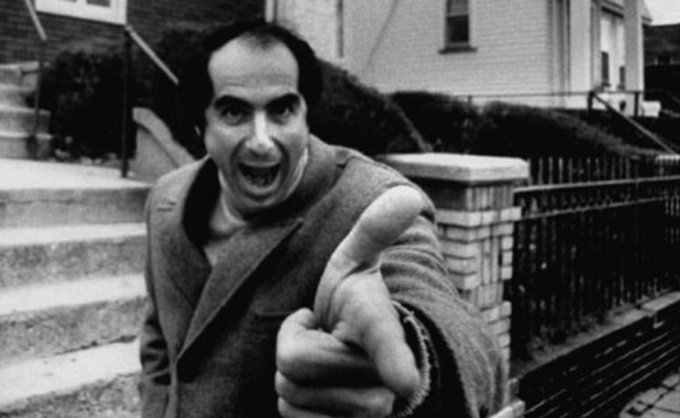 Eighty-four today! Happy birthday Philip Roth!