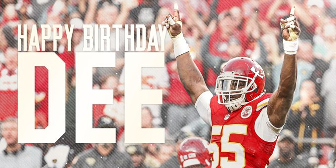 Join us in wishing a very happy birthday to Dee Ford!