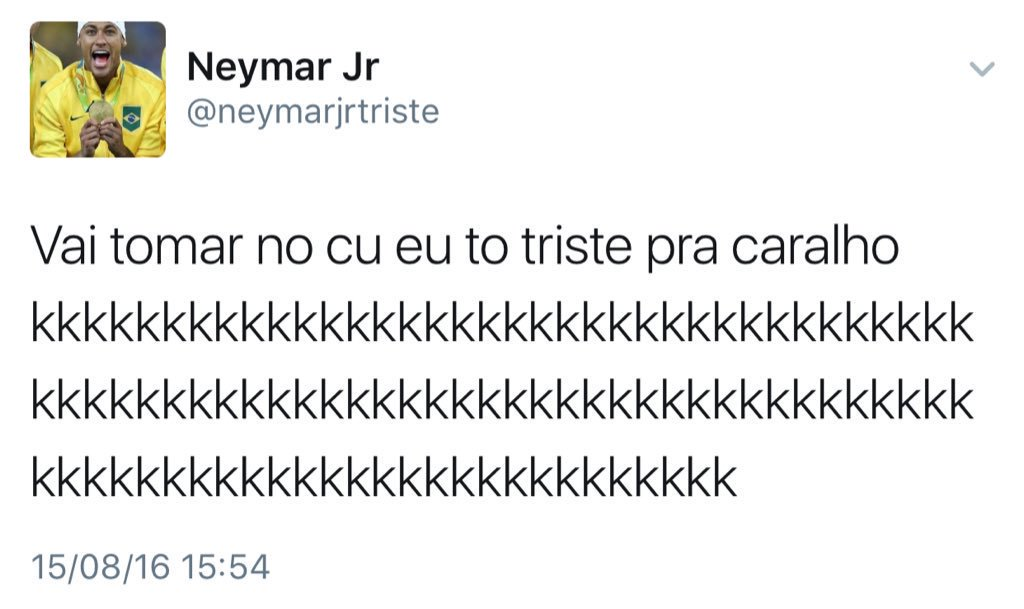 Hoje eu tô só o Neymar  #TWTinBrazil https://t.co/I0RkVmfAlC