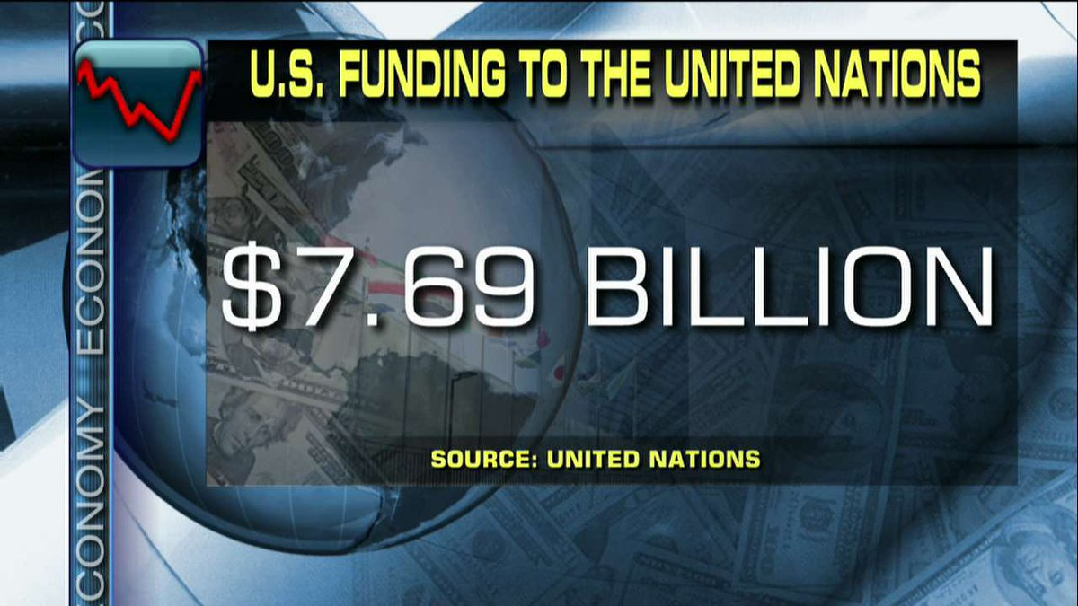 U.S. funding to the United Nations. https://t.co/Hcmrp7AcLH