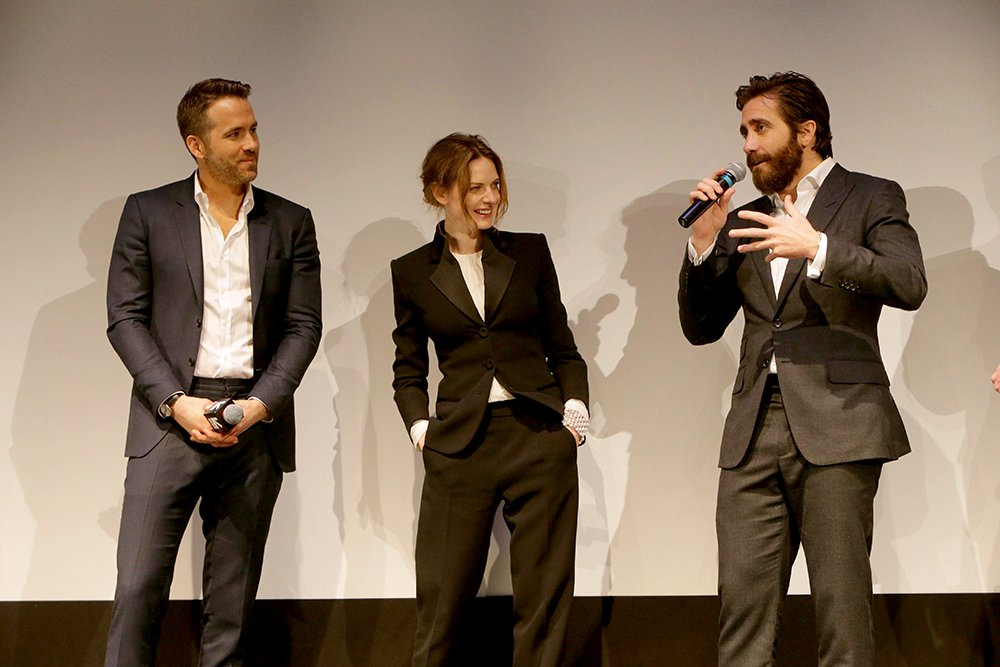 Ryan Reynolds, Jake Gyllenhaal, and Rebecca Ferguson debuted Life last night at