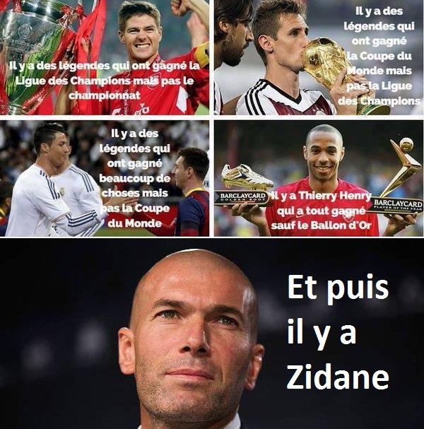 Zinédine Zidane la légende ⚽