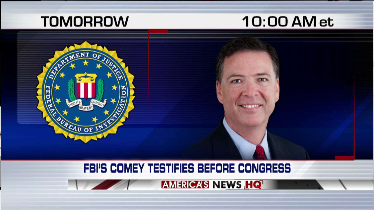 TOMORROW at 10a ET - Fox News Channel has full coverage of @FBI Director Comey testifying before Congress. https://t.co/XUUpIm4O9r