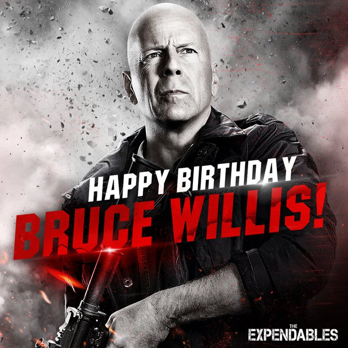 Happy Birthday Bruce Willis! The always get it done.