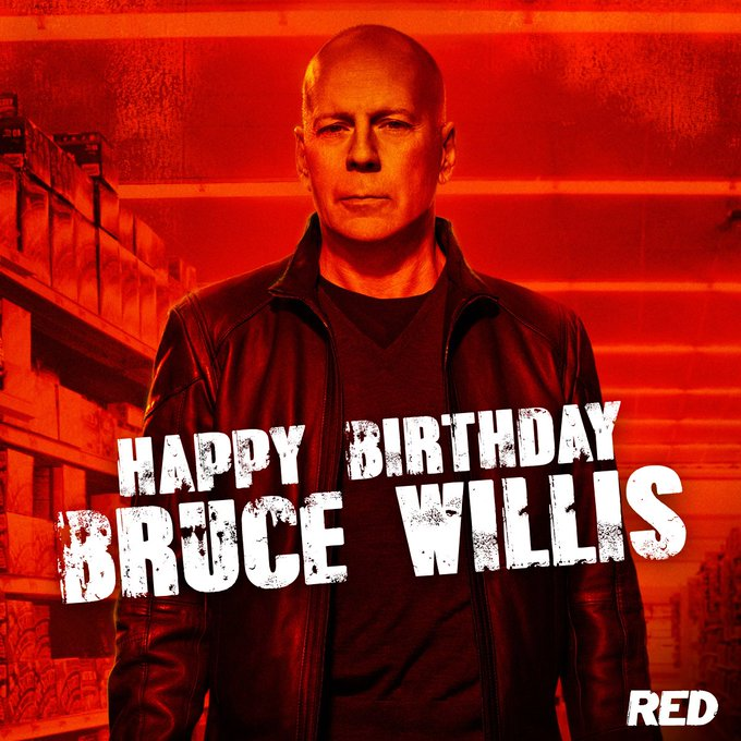 Happy Birthday to action icon Bruce Willis!