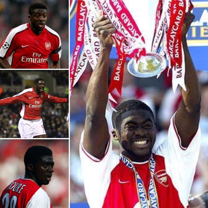 36 years old 311 appearances   13 goals  13 assists  Happy birthday to Kolo Touré!