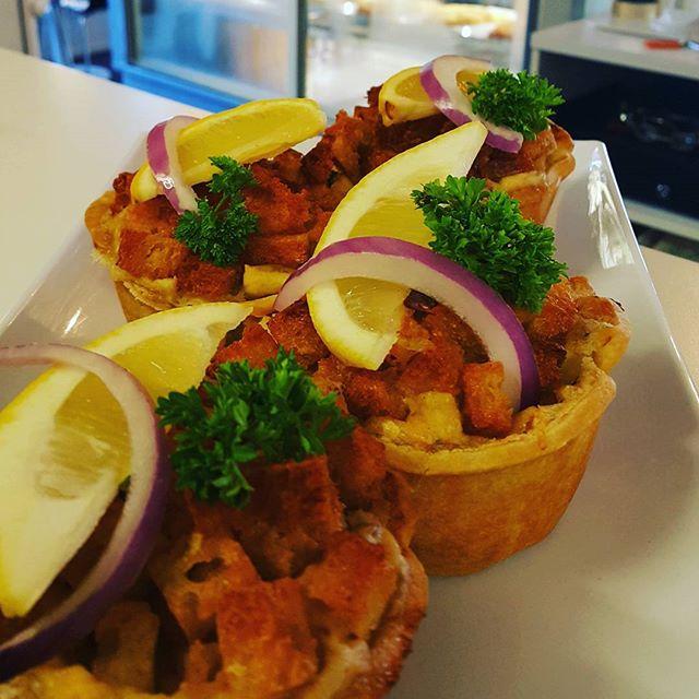 Monday 20 March, 9:30 a.m. - Delishy fishy pie #pie #fush #yummo