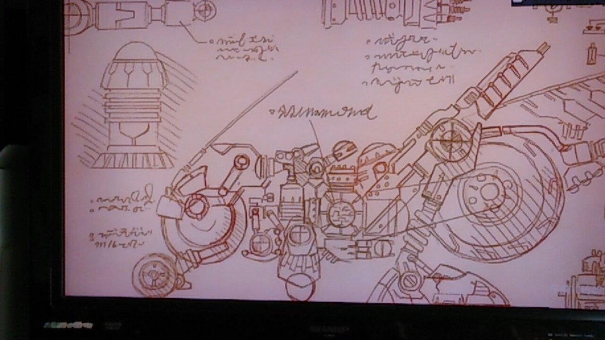 タイムボカン24リメイクしたドタバッタンの設計図。第2シーズン、楽しみ~♪#タイムボカン24#タイムボカン#ドタバッタン