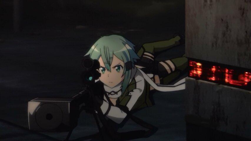 あなたならどっちの狙撃手が好き?シノン・RTティナ・いいね#SAO#ブラックブレット