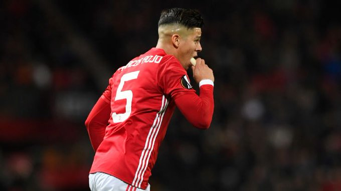 Happy Birthday Marcos Rojo, our most improved player this season, wish he continues this form..