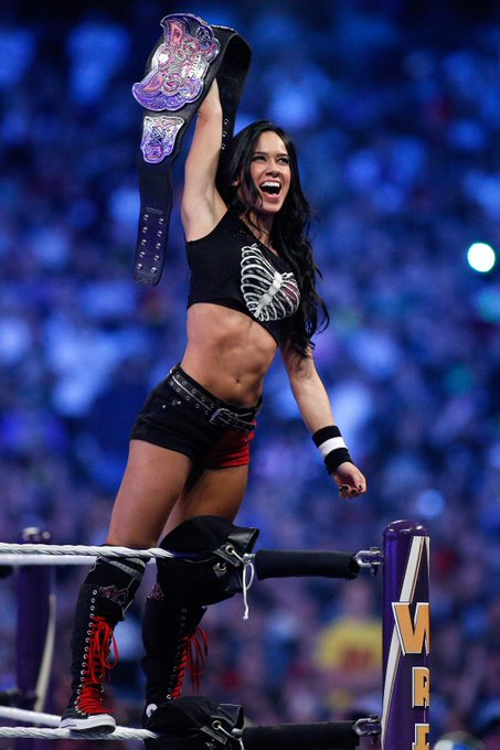 "Happy Birthday to the beautiful former WWE Diva, April Jeanette ""AJ\"" Mendez Brooks aka AJ Lee!"