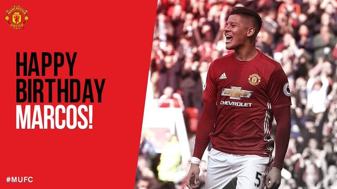 Happy birthday Marcos rojo! Classic banana eater