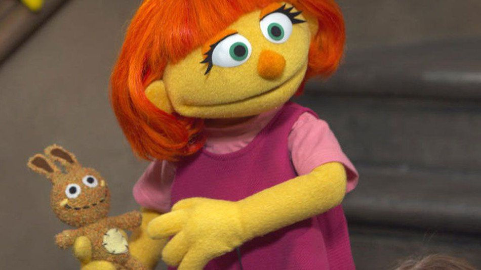 Meet Julia, a muppet with autism who's just joined 'Sesame Street's' regular cast https://t.co/ia7uy8jVt9 https://t.co/EHTd4Ocr2W