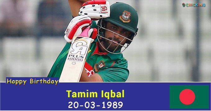 Happy Birthday Tamim Iqbal. The Bangladesh cricketer turns 28 today.