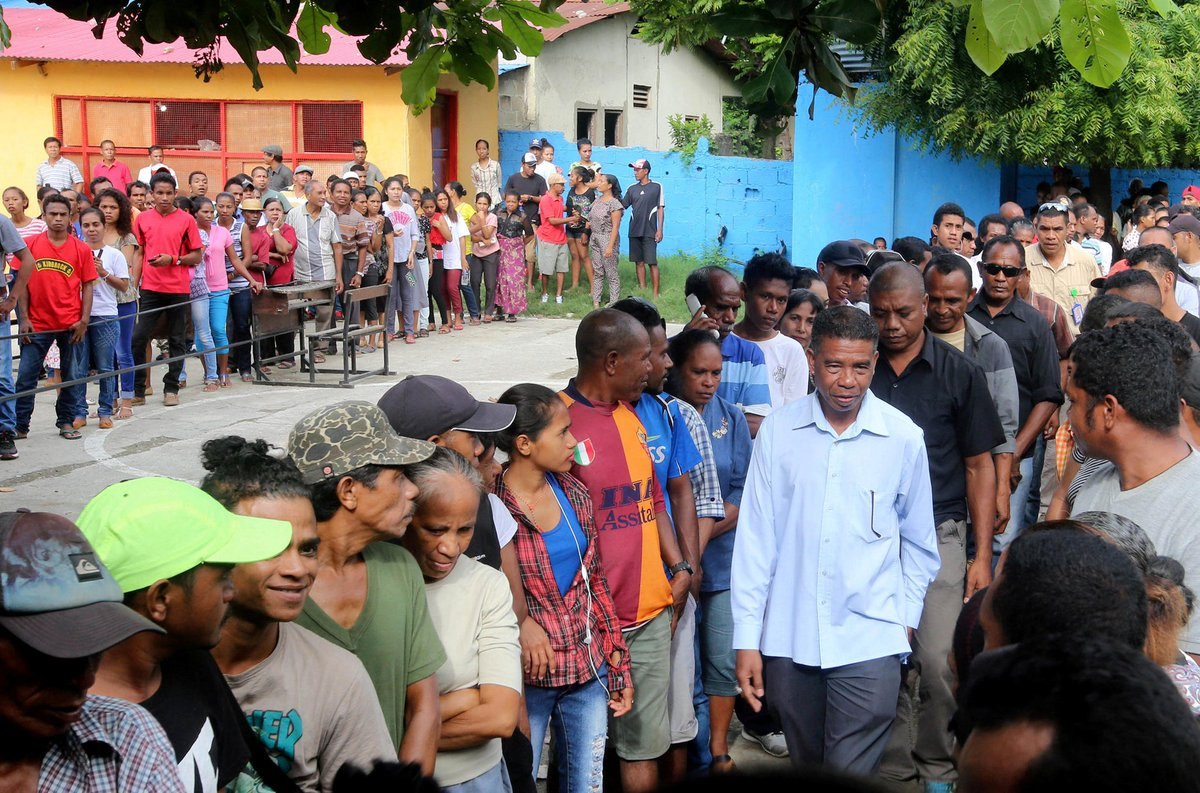 Timor Leste votes in presidential poll seen as sign of stability