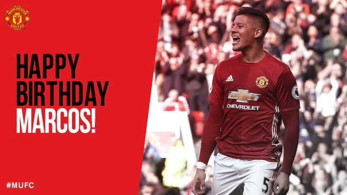 Happy 27th Birthday The Banana Man, Marcos Rojo