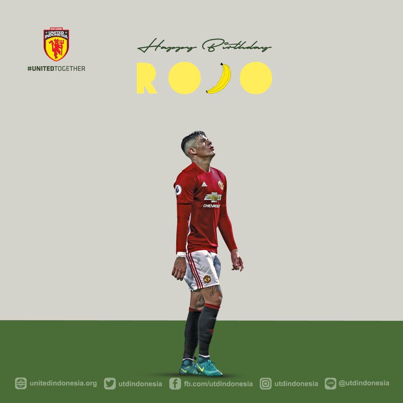 Happy birthday to you bro Marcos Rojo