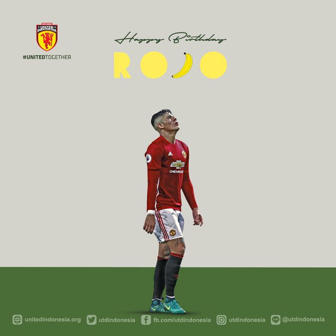 Happy birthday to you bro Marcos Rojo