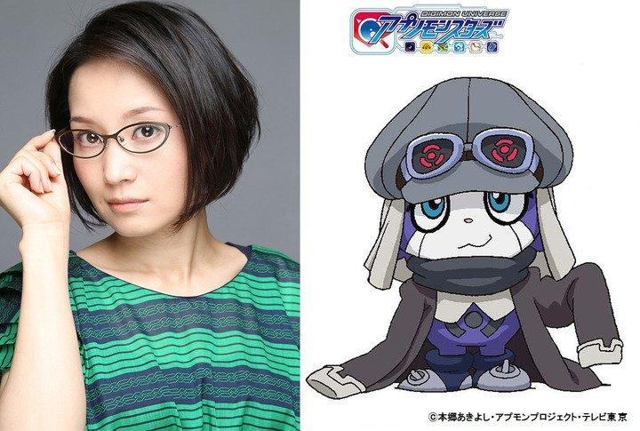 アプモン:新キャラの声優に嶋村侑 勇仁のバディに  #アプモン #Digimon  #嶋村侑