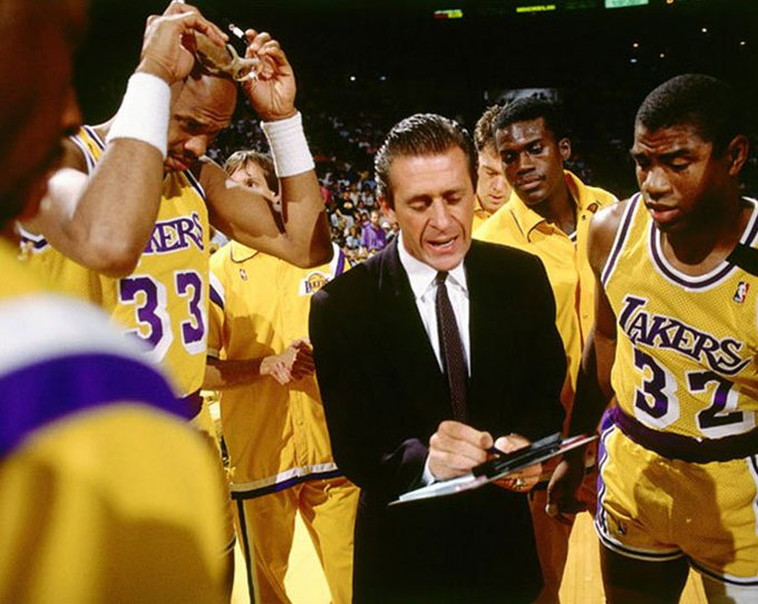 Happy Birthday to Pat Riley(middle), who turns 72 today!