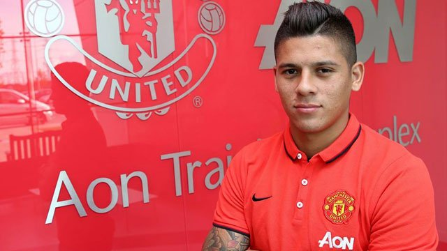 Happy Birthday Marcos Rojo football player from Manchester United and Argentina National Team