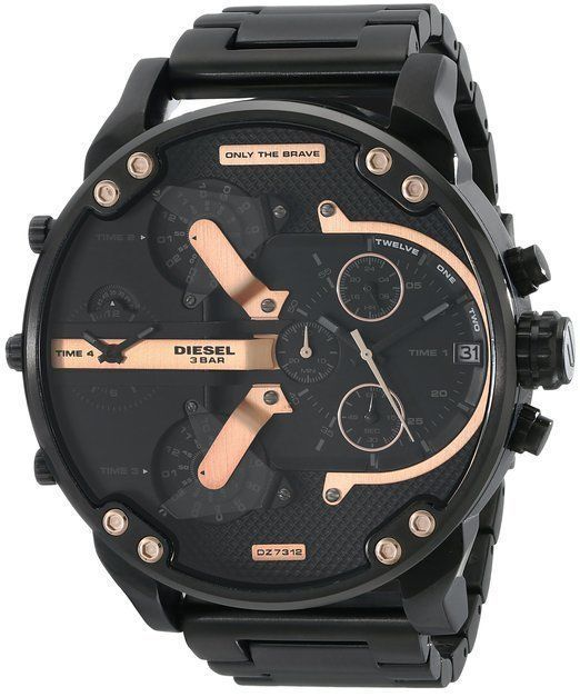 #free #fashion #watches #win #giveaway #np NEW Diesel DZ7312 Men's Black Mr. Daddy Watch #rt