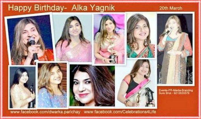 Happy birthday alka yagnik ji