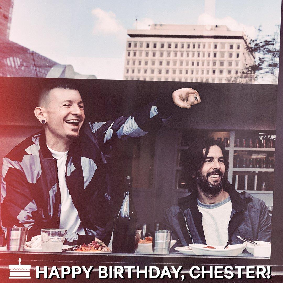 Happy birthday, Chester Bennington! Linkin Park\s frontman turns 41 today.