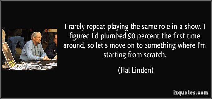 Happy birthday to Hal Linden!