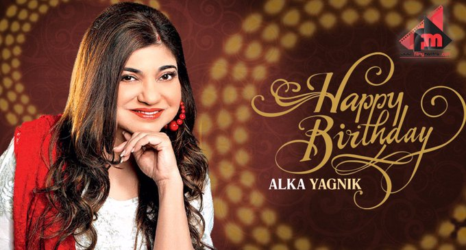 Happy birthday to extremely talented singer Alka Yagnik from team Filmymantra