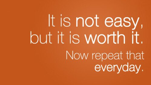 It is not easy, but it is worth it. Now repeat that everyday. #actorslife #actorsuk 🎥🎬 https://t.co/Bn5LVlt3Yh