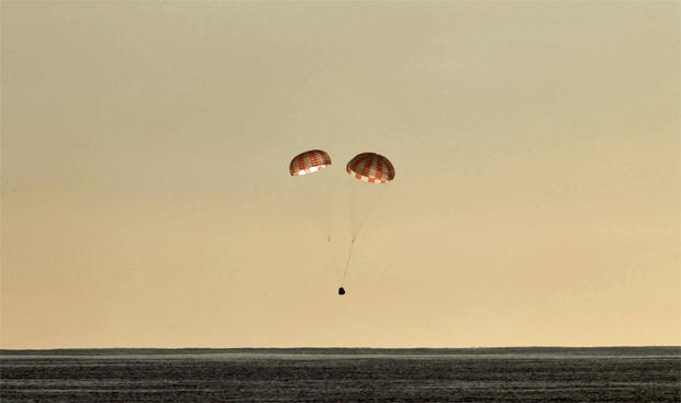 SpaceX cargo ship departs station, returns to Earth