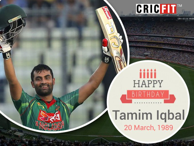 Cricfit Wishes Tamim Iqbal a Very Happy Birthday!