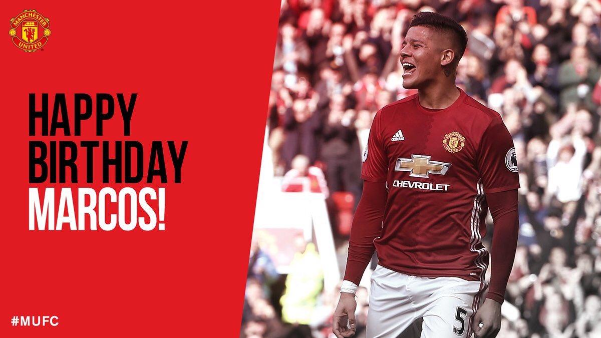 Happy 27th Birthday, Marcos Rojo!