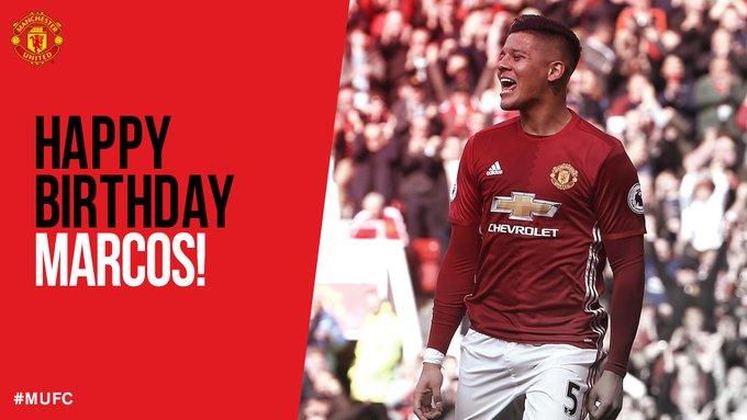 Happy Birthday Marcos Rojo